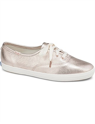 ba531bdc3a4 Champion Metallic Leather Sneaker Special Offer. Keds