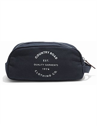 Organic Logo Wash Bag