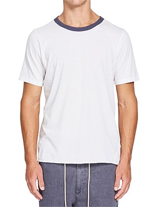 Contrast Two Piece Tshirt