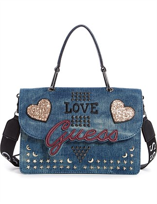 IN LOVE TOP HANDLE BAG