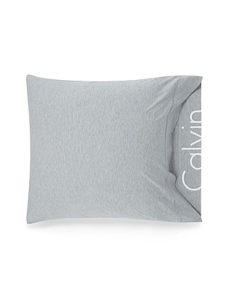 MODERN COTTON GREY EUROPEAN PILLOW CASE