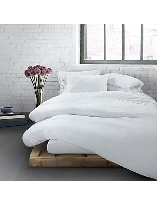 MODERN COTTON WHITE DOUBLE BED DUVET