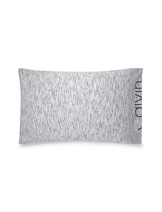 MODERN COTTON MARBLE GREY STANDARD PILLOW CASE