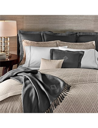 PENTHOUSE GRAY CLAYTON KING BED DUVET COVER 245X210CM
