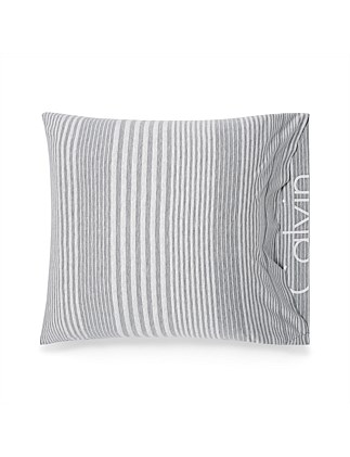 MODERN COTTON RHYTHM GREY EUROPEAN PILLOW CASE