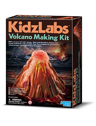 4M - KidzLabs Volcano Making Kit