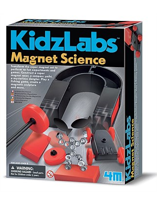 4M - KidzLabs Magnet Science