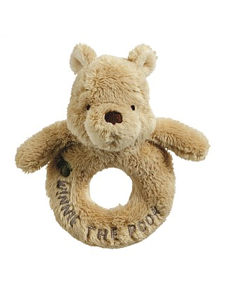 CLASSIC WINNIE THE POOH RING RATTLE