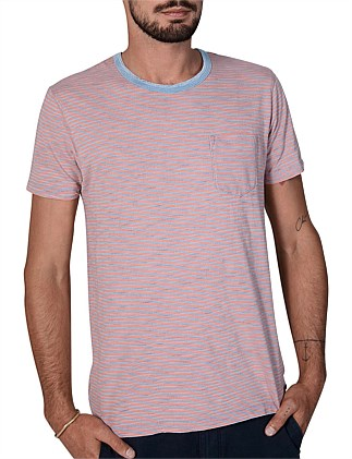 Indigo Multi Stripe T-Shirt