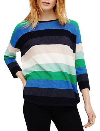 MEGAN BOLD STRIPE KNIT