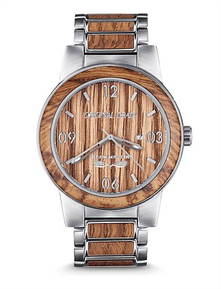 Barrel Brewmaster Brushed Watch