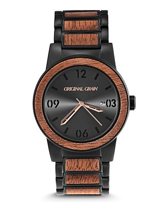 Barrel Sapele Matte Black Watch