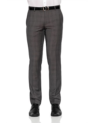 WOOL PRINCE OF WALES CHECK TROUSER