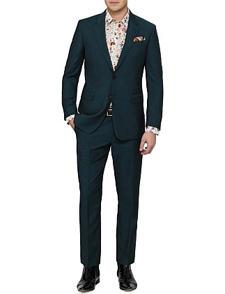 WOOL MOHAIR PLAIN  SUIT