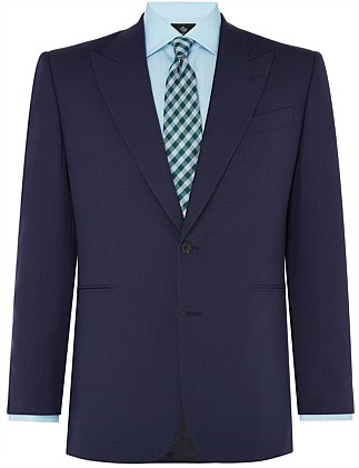BLUE GINGHAM SUIT