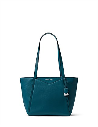 Whitney Small Pebbled Leather Tote