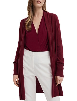 Drape Belt Back Cardigan