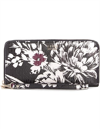 TAMRA LARGE ZIP AROUND WALLET