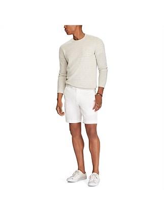 0a1eb71d7fe7 Mens Straight Fit Linen-Blend Short Special Offer On Sale. KHAKI  NAVY   WHITE. Polo Ralph Lauren