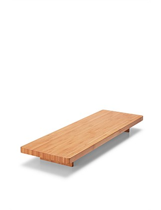 BENTO SERVING BOARD BAMBOO  60X20CM