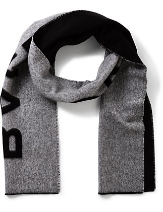 CASHMERE/WOOL SCARF 30 X 205