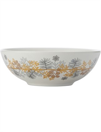 Yuletide Bowl 14cm Wreath Gift Boxed