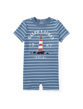 Cotton Jersey Graphic Shortall(6-24 Months)