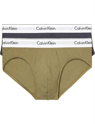 ef3b87e9d3d MODERN COTTON STRETCH HIP BRIEF 2PK Special Offer. Calvin Klein