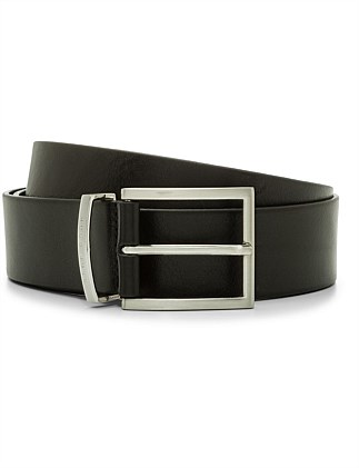 BUDDY LEATHER BUCKLE BELT