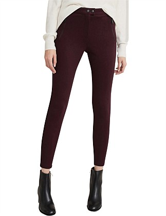 Zip Ponte Legging