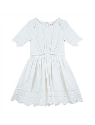Broidery Anglaise Party Dress