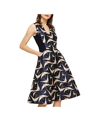 DELAPHINE JAQUARD DRESS 6970b5b44ec