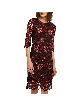 BELLE LACE DRESS On Sale a1e61e7b2fbc