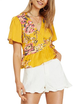 GOLDEN BLOOM TOP