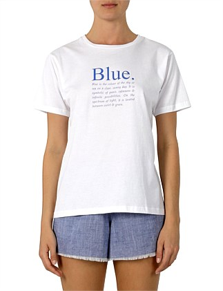 Colour Slogan T-Shirt