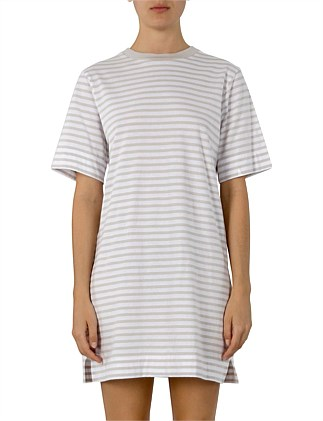 Carmen Washed Stripe Tee Dress