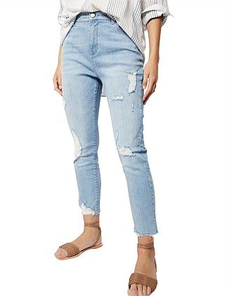 Cropped Rip Jean