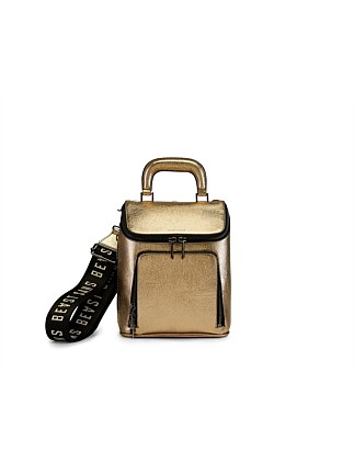 THE BRIEF LIAISON BACKPACK METALLIC CRUSH
