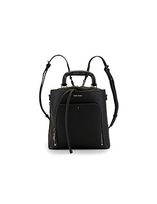 HARLEQUIN BUCKET BACKPACK PEBBLE