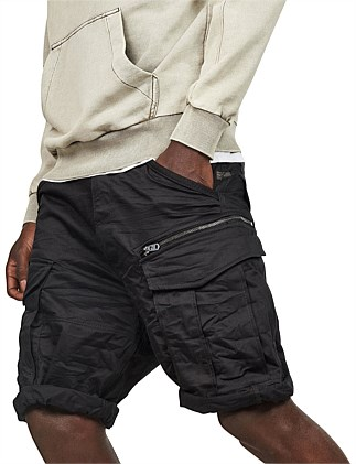Rovic relaxed cargo short w/ zip-pocket