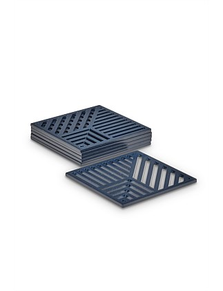 Linear Coasters Set of 6
