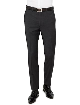 WOOL PLAIN TROUSER