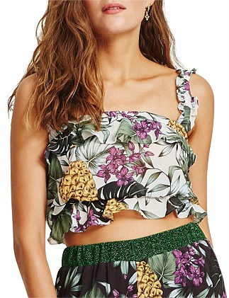 Alegrias Cropped Top