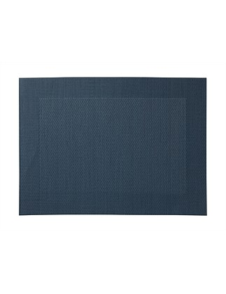 Wide Border Placemat Royal Blue