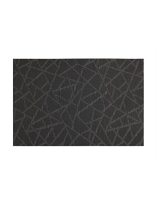 Mosaic Placemat Black