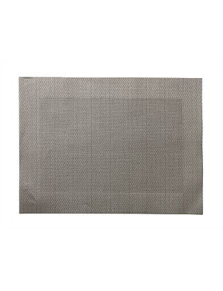 Wide Border Placemat Taupe