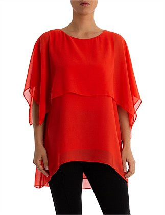 Layered Cape Top