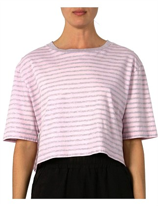 Demi Overdyed Stripe T Shirt