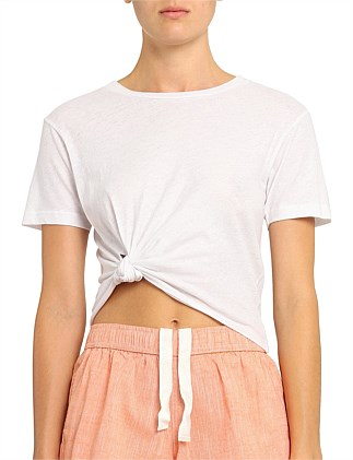 Ina Knot Front Tee