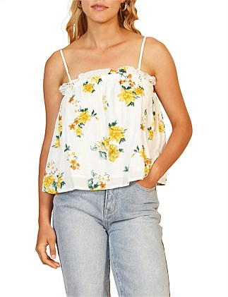 LEMON BLOOM CAMI